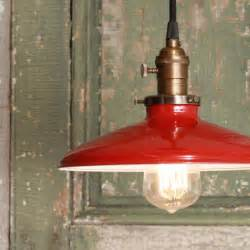Vintage Kitchen Light Pendant Light With Enamel Shade By Lucent Lworks Industrial Pendant Lighting By Etsy