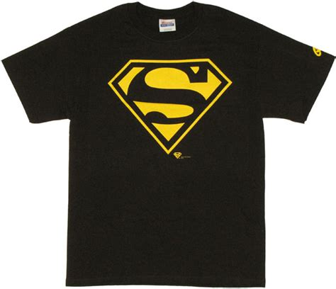 T Shirt Bodyfit Superman Gold superman logo t shirt