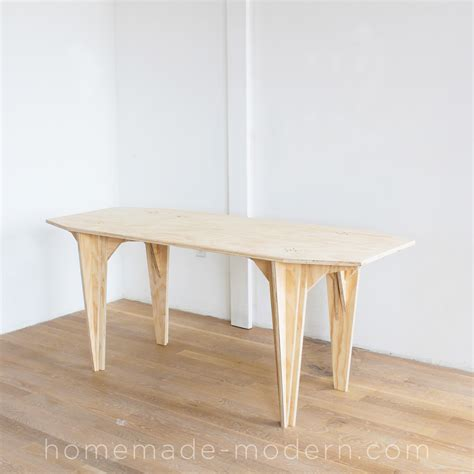 what does table modern ep110 plywood table