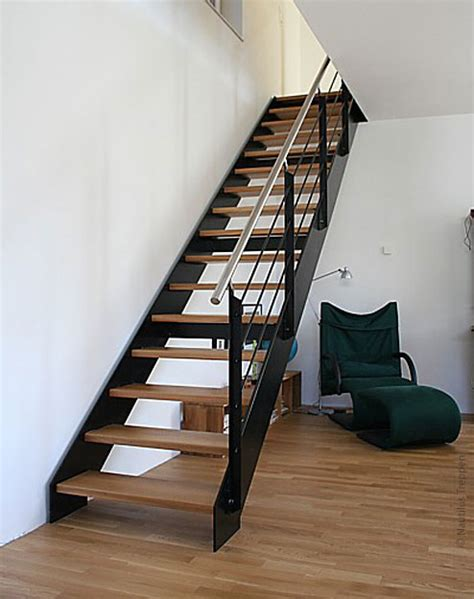 treppe stahlwange stahlwangentreppe in kleinmachnow traumhaus