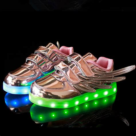 kid light up shoes 2016 usb children shoes with light led shoes