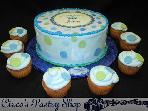 Prince Baby Shower Cupcakes by Baby Shower Cakes Bushwick Fondant Baby Shower