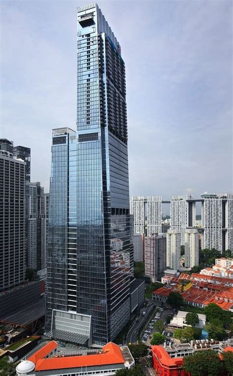 top  tallest buildings  singapore  tower info