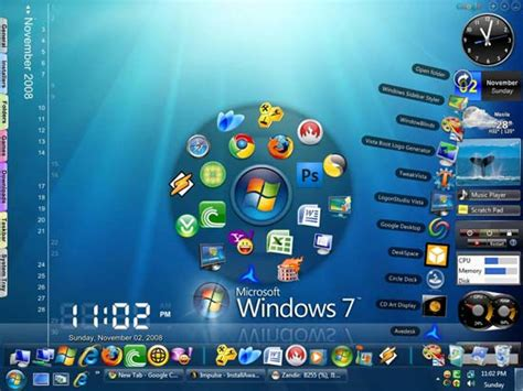 pc themes windows 7 ultimate 50 best free windows 7 themes