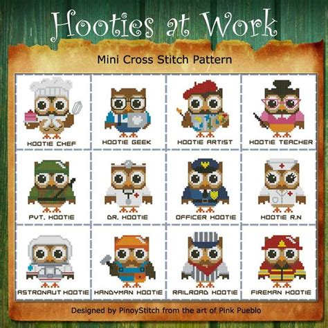the pattern sourcebook mini 1780674716 1000 images about hooties owls cross stitch patterns on stitching mini cross