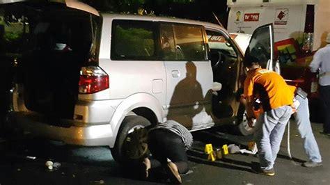 Tv Mobil Banjarmasin garis polisi melintang di lokasi ledakan depan rumah dinas ridwan kamil tribunnews