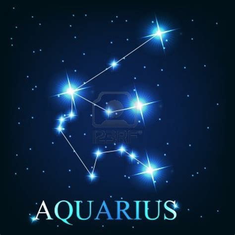 13008336 vector of the aquarius zodiac sign of the