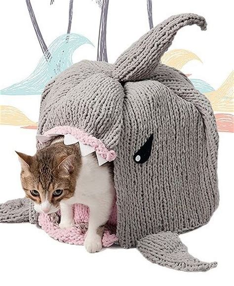 knitting pattern cat cave shark knitting patterns in the loop knitting