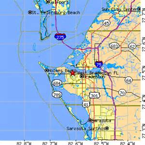 west bradenton florida fl population data races