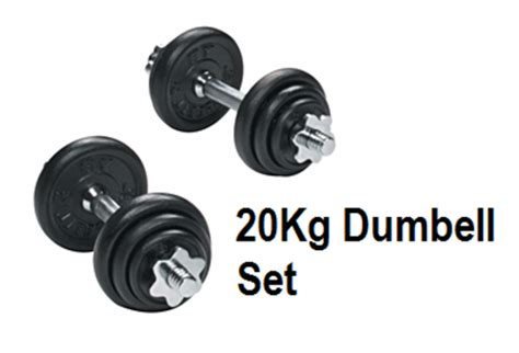 Dumbell Kettler 2 Set 20 Kg dumbbells 20kg dumbell set pair 2 x 10kg dumbells was sold for r499 00 on 12 jul at 23 33