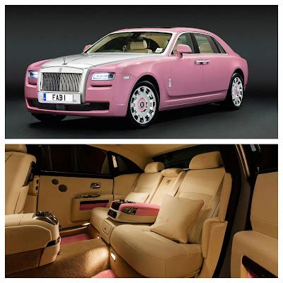 roll royce pink pink rolls royce ghost for fab1 million project