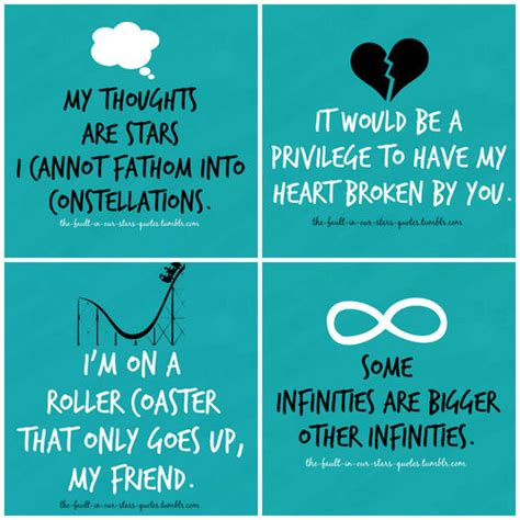 theme quotes in the fault in our stars the fault in our stars chile meets east village