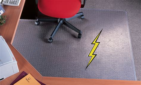 60 X 72 Chair Mat by 36 Quot X 48 Quot Rectangular Anti Static 14 Quot Thick Studded Vinyl