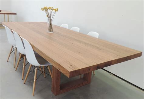 Timber Dining Tables Melbourne Spotted Gum Dining Table New Showroom Melbourne Tables