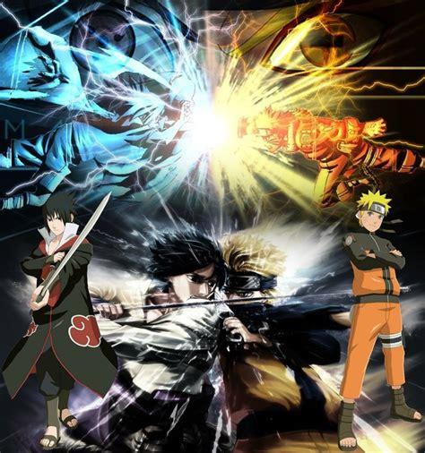 battle narotu  sasuke  origin   story