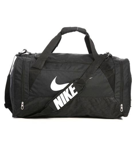 trabel bag nike nike black polyester travel bag buy nike black polyester