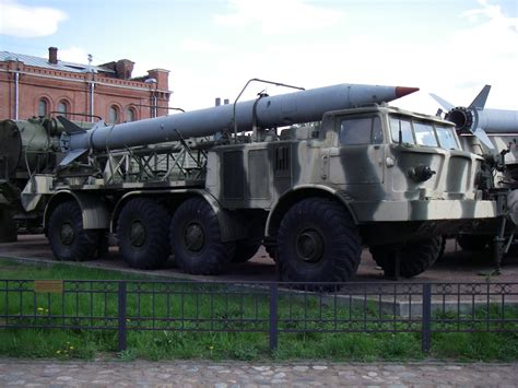 file 9t29 transporter with 9m21 rocket of 9k52 missile complex 171 m 187 in historical