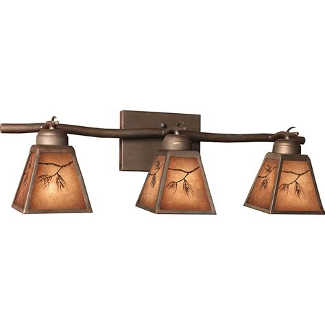 rustic bathroom lights vanity light fixtures in rustic style useful reviews of