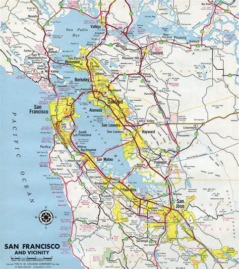 california map interstate interstate guide interstate 680 california