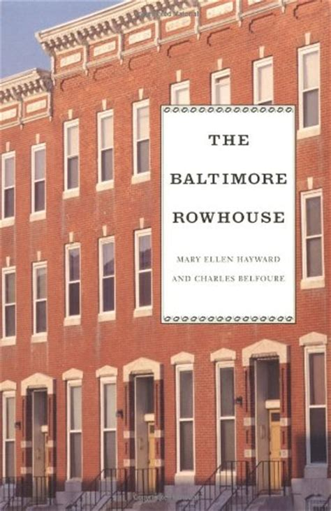 the history of baltimore rowhouses wanderwisdom row house the history of baltimore rowhouses