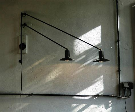 swing arm light wall mount wall mount swing arm l cernel designs