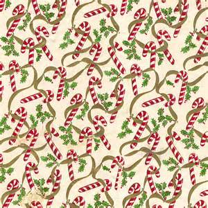 mid century christmas paper candy canes holly flickr