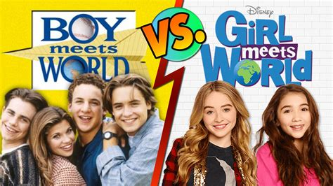 boy meets world girl girl meets world vs boy meets world youtube