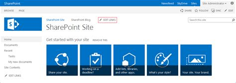 sharepoint top link bar how to add a link to the top link bar in sharepoint 2013