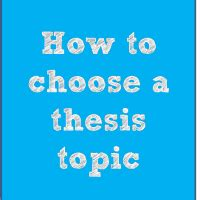 How To Choose A Mba Program by Master Thesis Mba