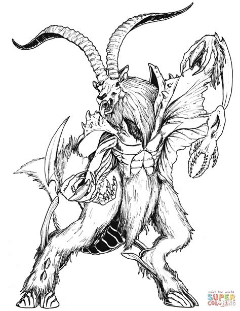 Mythical Creatures Coloring Pages