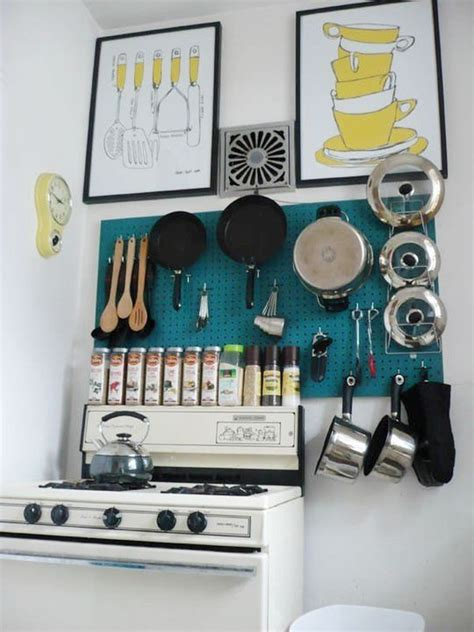 kitchen pegboard ideas 65 ingenious kitchen organization tips and storage ideas