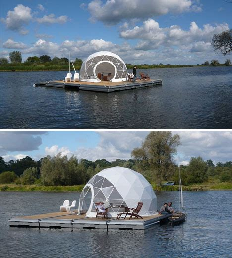 houseboat zombie apocalypse floating escape dome home for the zombie apocalypse