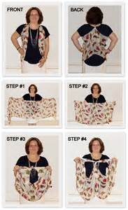 How To Fold An Infinity Scarf S Boutique How To Tie A Scarf Into A Vest