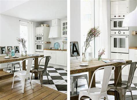 Impressionnant Carrelage Cuisine Damier Noir Et Blanc #3: photo-decoration-cuisine-damier-noir-et-blanc-8.jpg