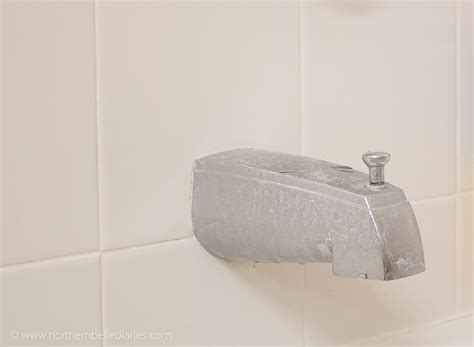 how to clean tough stains in bathtub how to remove hard water stains on chrome