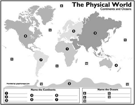 printable quiz continents and oceans continents oceans proprofs quiz