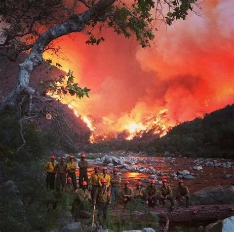 Wildfire At california photos dramatic as
