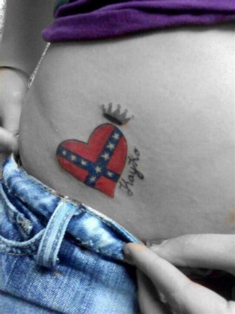 cool rebel flag tattoos hative