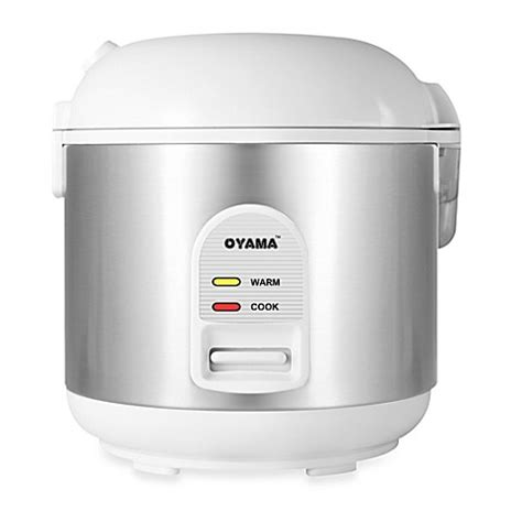 face steamer bed bath and beyond oyama 5 cup stainless steel rice cooker warmer steamer
