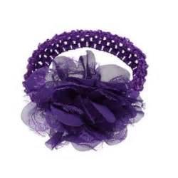 Flower Ribbon Headband Intl rounded petal ribbon flower