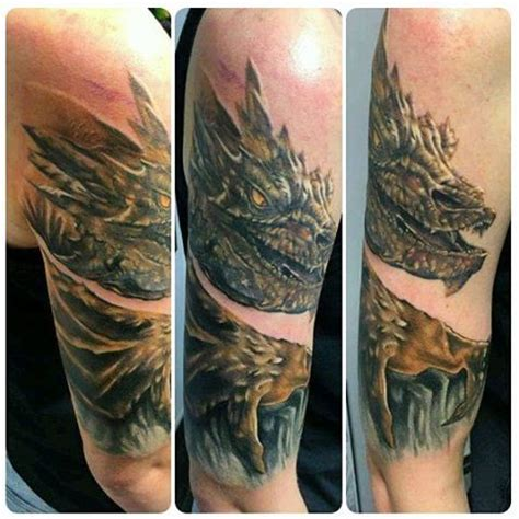 smaug tattoo smaug www pixshark images galleries