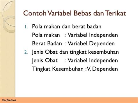 variabel dan hipotesis