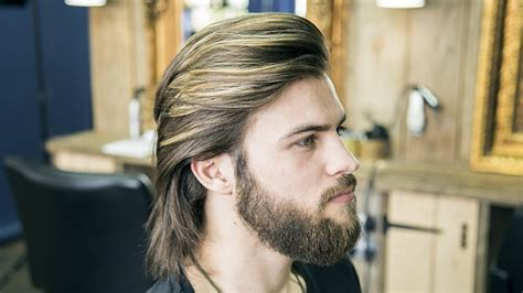 long hair grooming tips for men how to cut and style long hair for men collar length