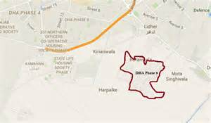 Estate Agents Floor Plans update on rates of dha lahore phase 9 files zameen blog