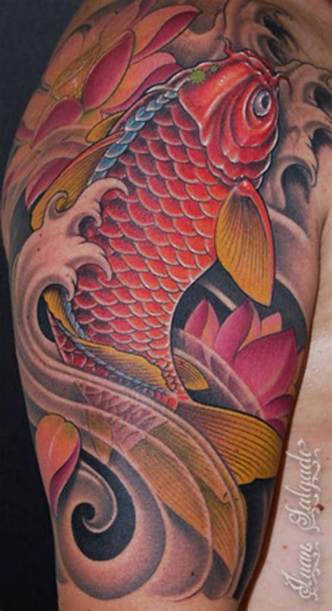 red koi fish tattoo koi tattoos koi fish tattoos