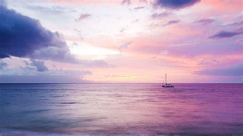 mc wallpaper dreamy sea boat blue backgroung desktop