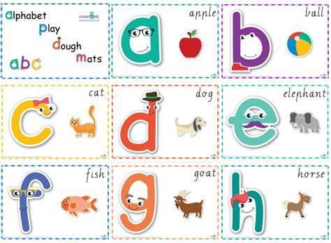 number alphabet play dough mats cursive print learning