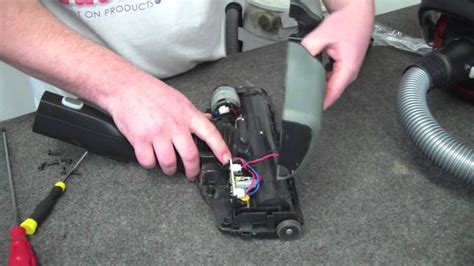 V Belt Spin my electrolux ultra one powerhead brush is not spinning how do i change the belt