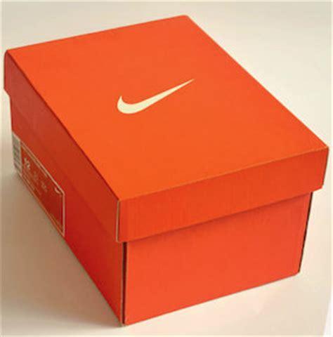 las cajas de zapatos de nike se encogen para dar paso a la
