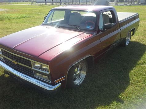 chevy truck bed for sale 1975 customized chevy long bed pickup truck for sale